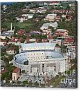 Aerial Of Tiger Stadium Acrylic Print