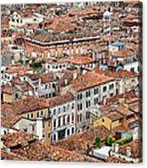 Aerial Of Venice Acrylic Print