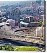 Aerial Shot Of Boston Acrylic Print
