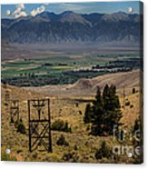 Aerial Tramway Towers Acrylic Print
