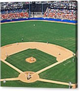 Aerial View Of A Stadium, Dodger Acrylic Print