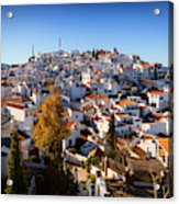 Aerial View Of Comares Village, One Acrylic Print