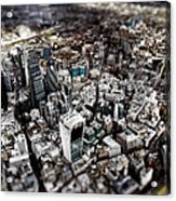 Aerial View Of London 3 Acrylic Print
