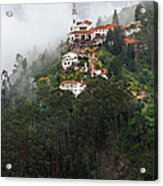 Aerial View Of Monserrate Church Acrylic Print