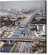 Aerial View Of Sao Paulo Acrylic Print