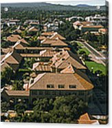 Aerial View Of Stanford University Acrylic Print