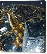 Aerial View Of Tel Aviv Acrylic Print