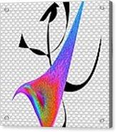 Aerobics Acrylic Print