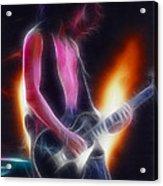 Aerosmith-joe-94-gb26a-fractal Acrylic Print