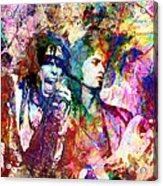 Aerosmith Original Painting Acrylic Print