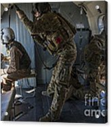 Afghan Air Force Members Acrylic Print
