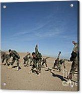 Afghan National Army Commandos Acrylic Print