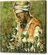 Afghani Harvest - Watercolor Acrylic Print