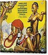 Africa Speaks Acrylic Print