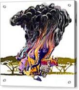 Africa Up In Smoke Acrylic Print