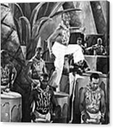 African American Musical Scene Acrylic Print