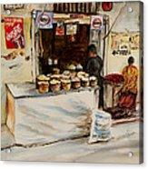 African Corner Store Acrylic Print