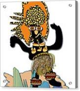 African Dancer 6 Acrylic Print