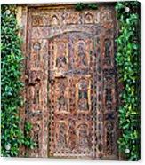 African Door Parker Palm Springs Acrylic Print