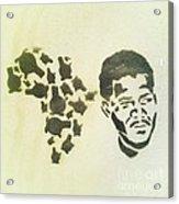 African Icon Acrylic Print