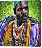 African Look Acrylic Print