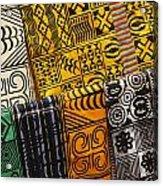 African Prints Acrylic Print