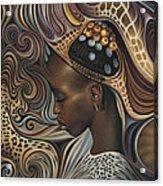 African Spirits II Acrylic Print