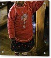 African Toddler Acrylic Print