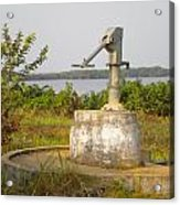 African Water Pump Acrylic Print
