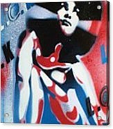 Afro America Acrylic Print