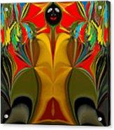 Afro Art Acrylic Print