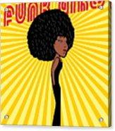 Afro Disco Girls Acrylic Print