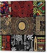Afroecletic II Acrylic Print