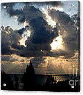 After The Storm Acrylic Print by John Chatterley