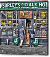Afternoon At Mcsorley's Acrylic Print