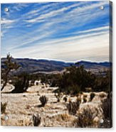 Afternoon At Red Rock Acrylic Print