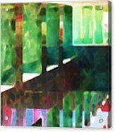 Afternoon At The Office Acrylic Print