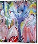 Afternoon Bird Ballet Acrylic Print