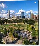 Afternoon In Austin Acrylic Print