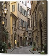 Afternoon In Florence Acrylic Print