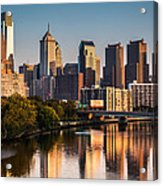 Afternoon In Philly Acrylic Print