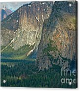 Afternoon In Yosemite Acrylic Print