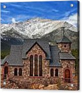 Afternoon Mass Acrylic Print