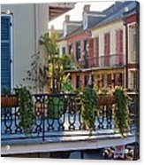Afternoon On The Balcony Acrylic Print