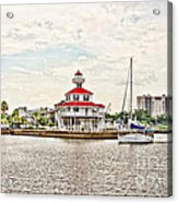 Afternoon On The Water - Hdr Acrylic Print