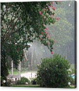 Afternoon Showers Acrylic Print