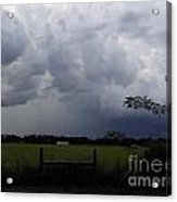 Afternoon Storm Acrylic Print