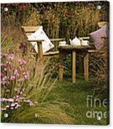 Afternoon Tea Acrylic Print by Anne Gilbert