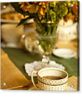 Afternoon Tea Time Acrylic Print