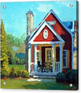 Afternoon The Gameskeeper Cottage Acrylic Print